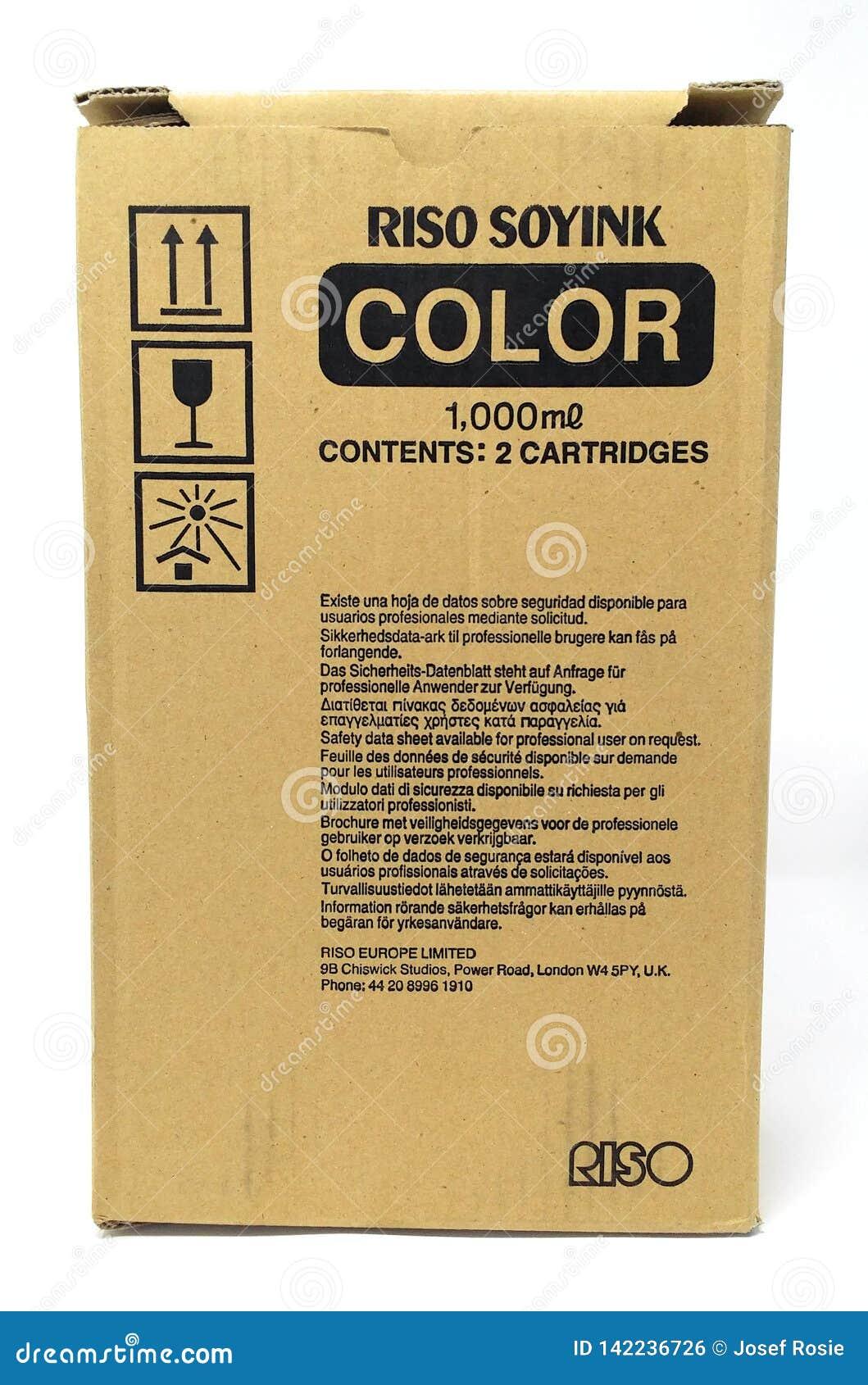 Riso甜墨水颜色1000ml内容两个弹药筒