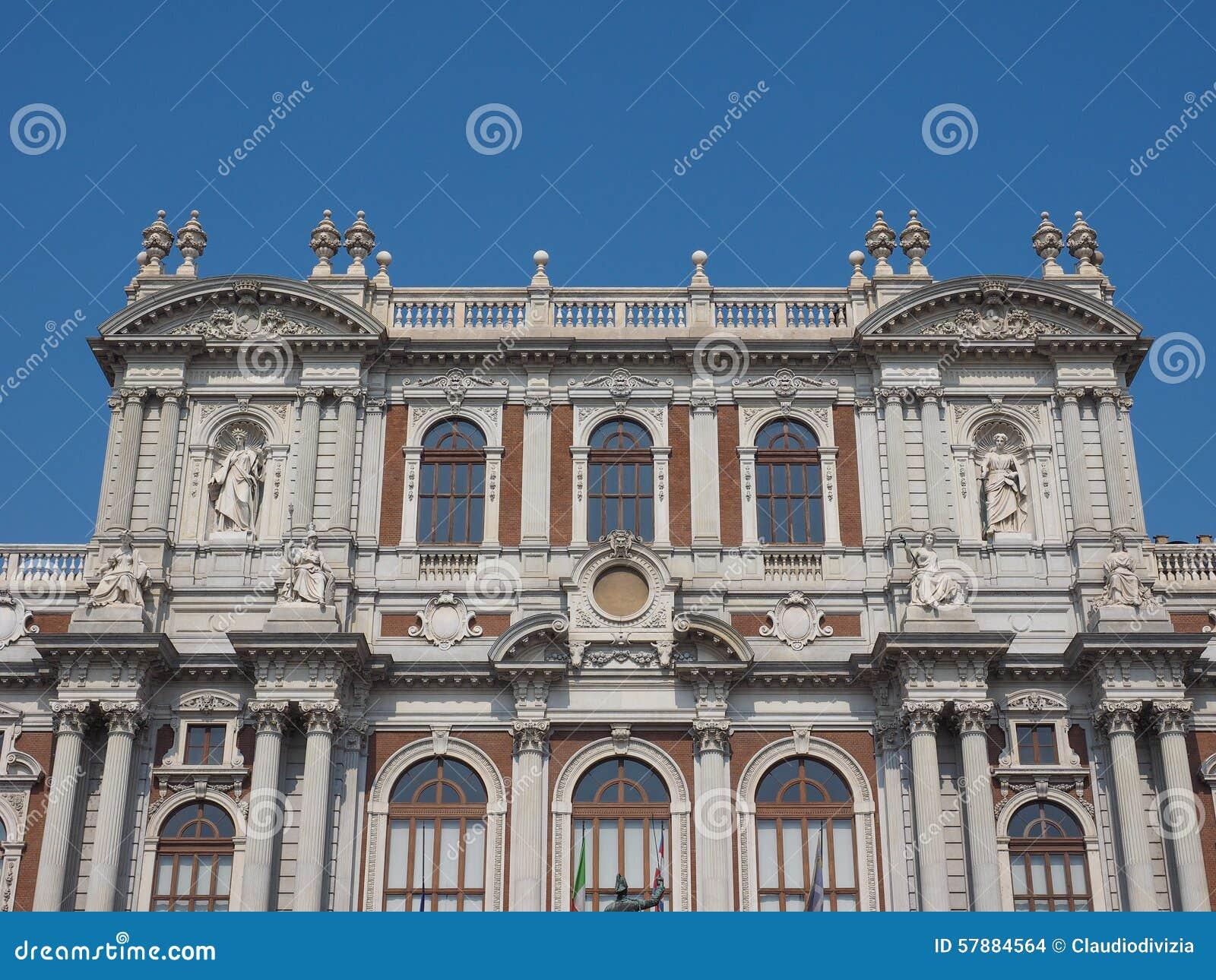 Museo Nazionale Del Risorgimento Italiano.Risorgimento National Museum In Turin Stock Photo Image Of Palazzo