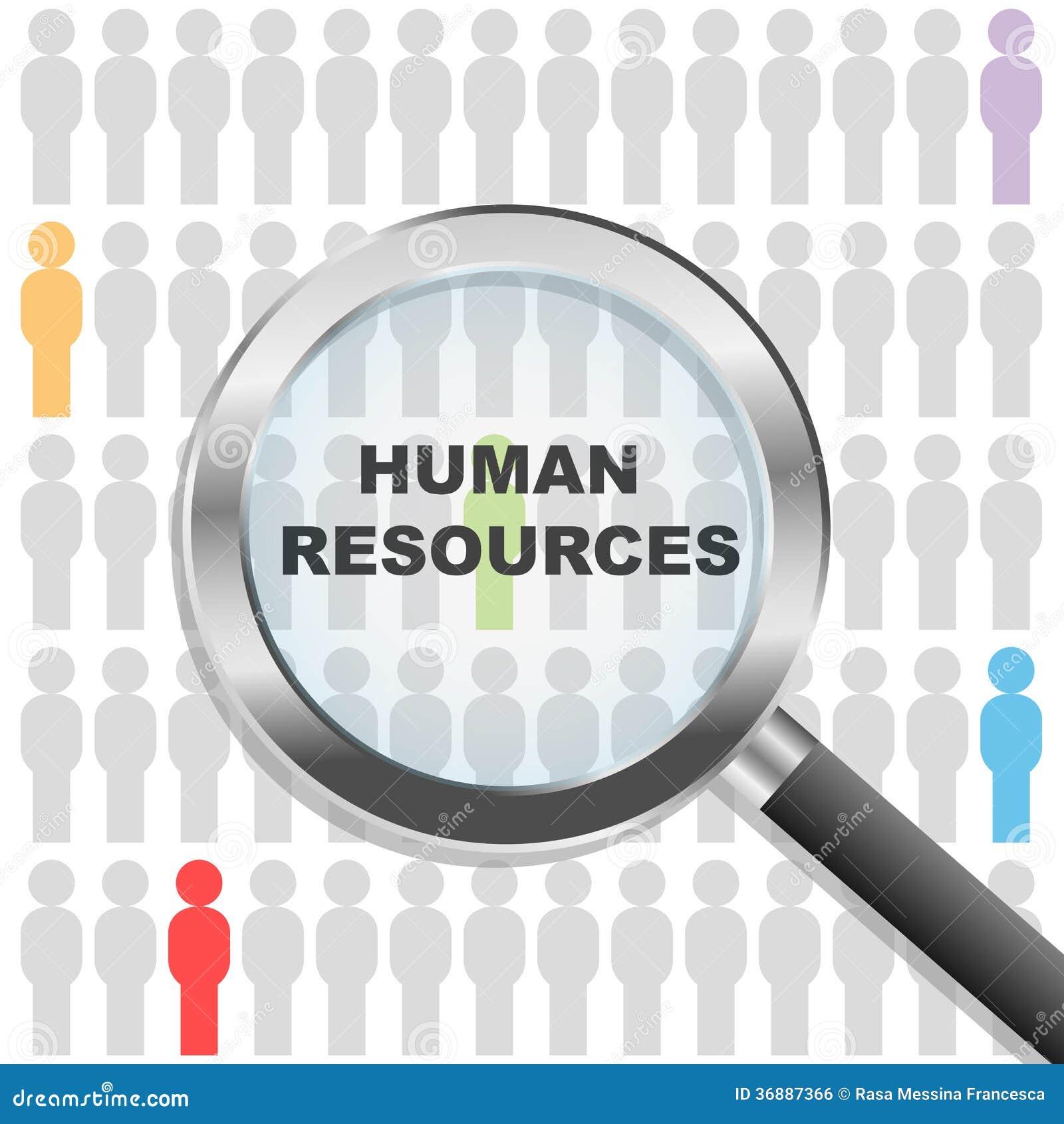Download Risorse umane illustrazione vettoriale. Illustrazione di concetto - 36887366