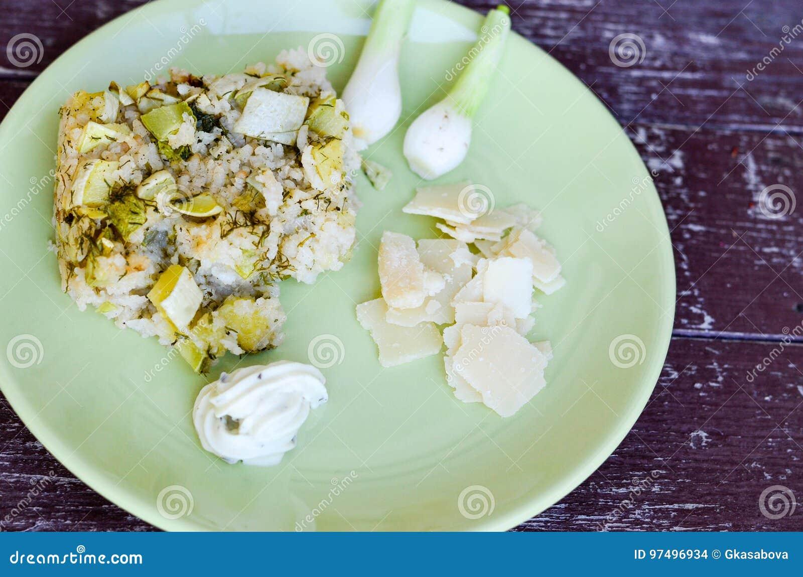 Risotto dello zucchini