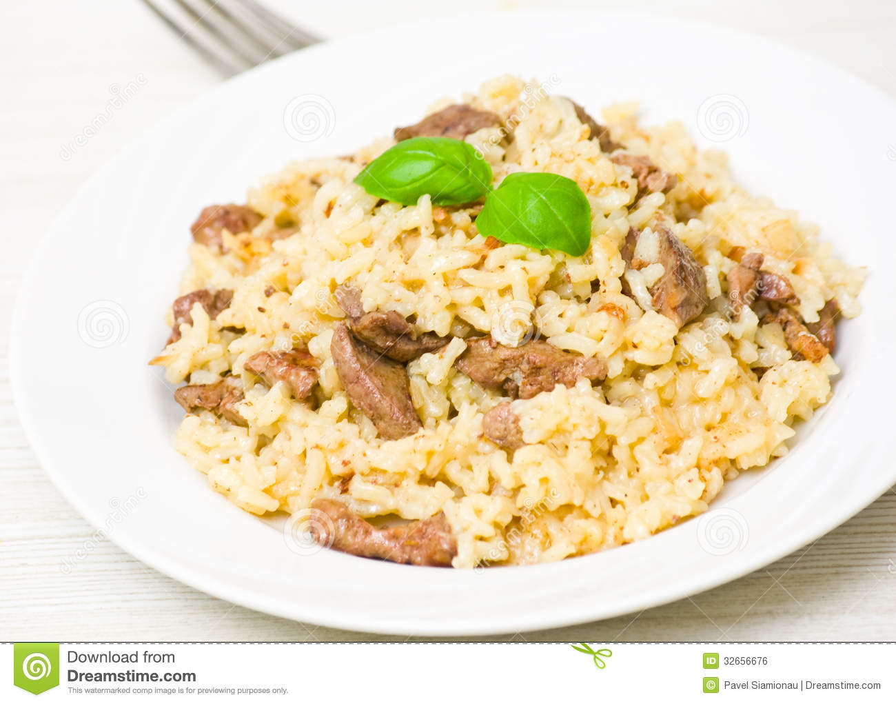 Risotto med lever