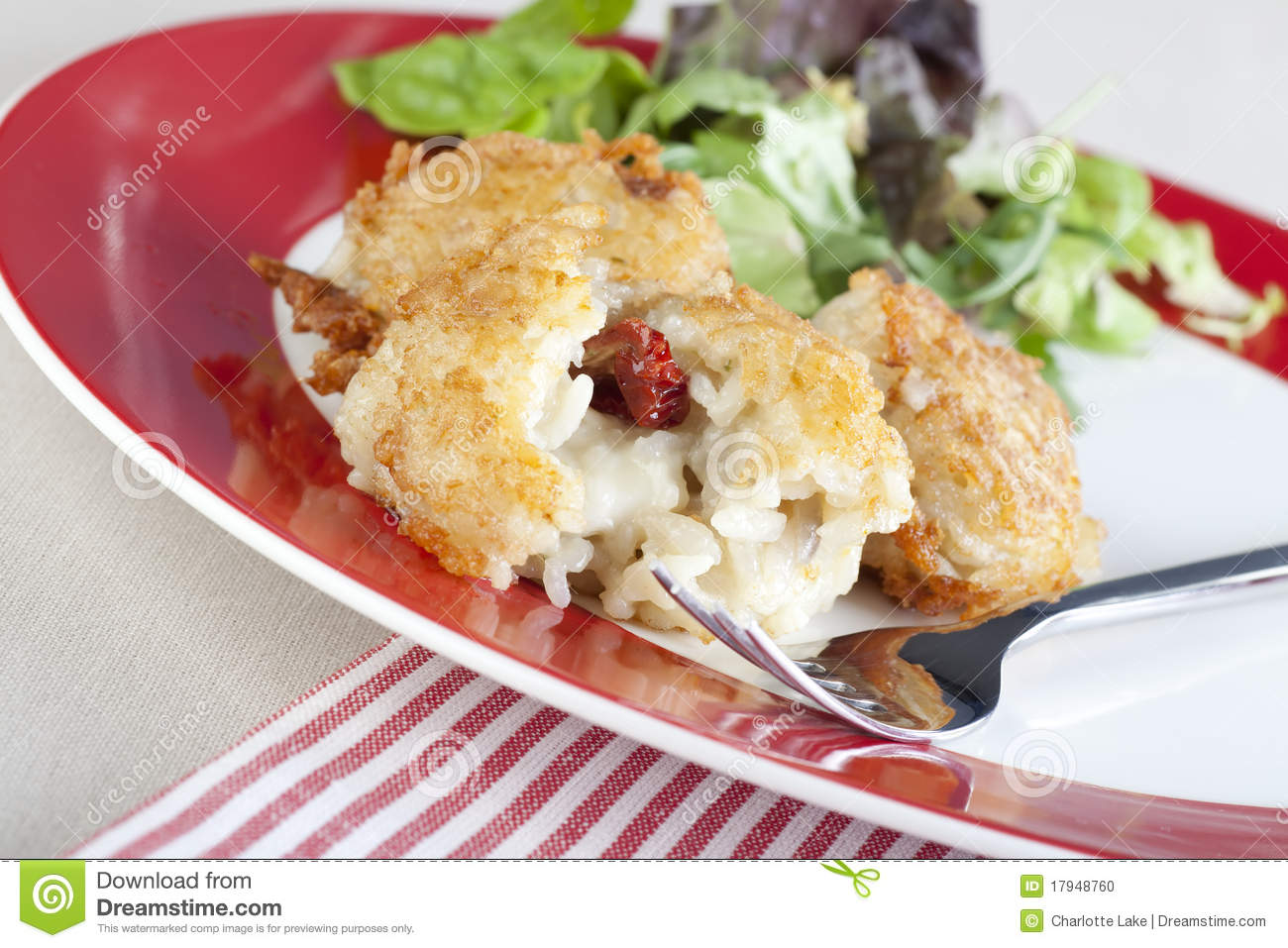 Risotto And Mozzarella Appetizer Stock Photo - Image: 17948760