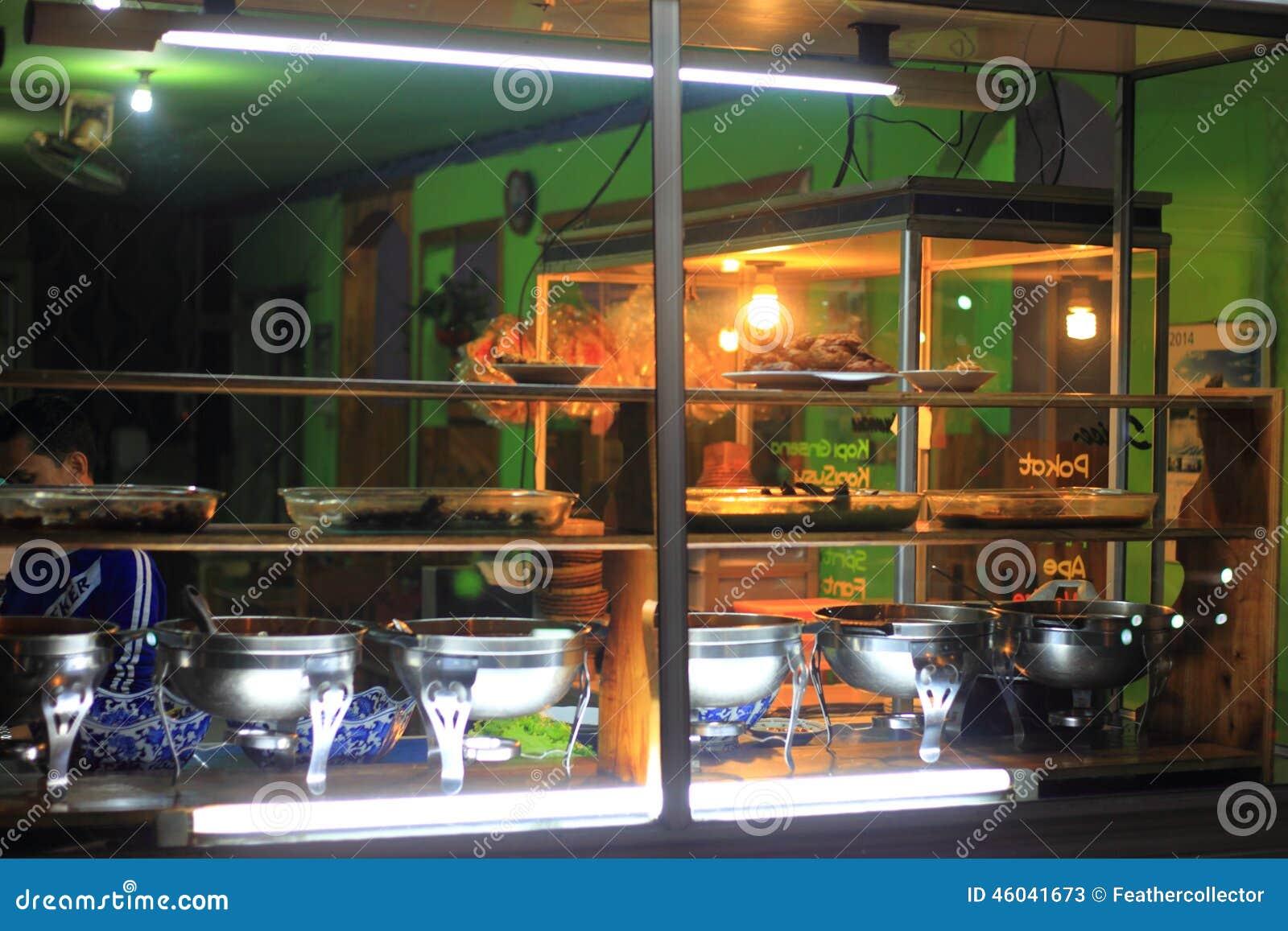 Ristorante tradizionale indonesiano