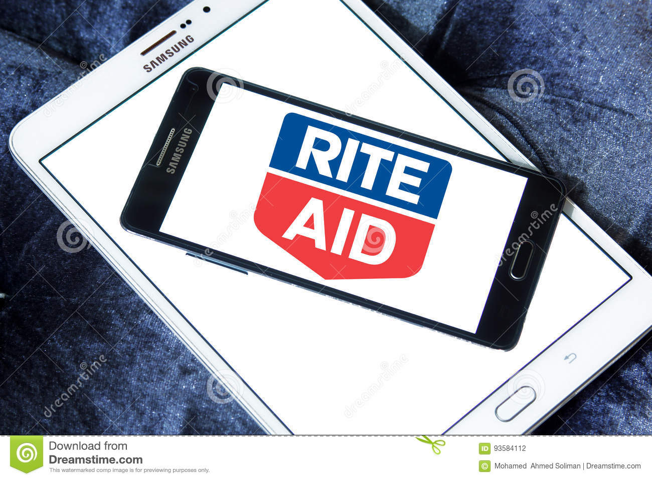 rite aid pharmacy logo editorial photography image 93584112