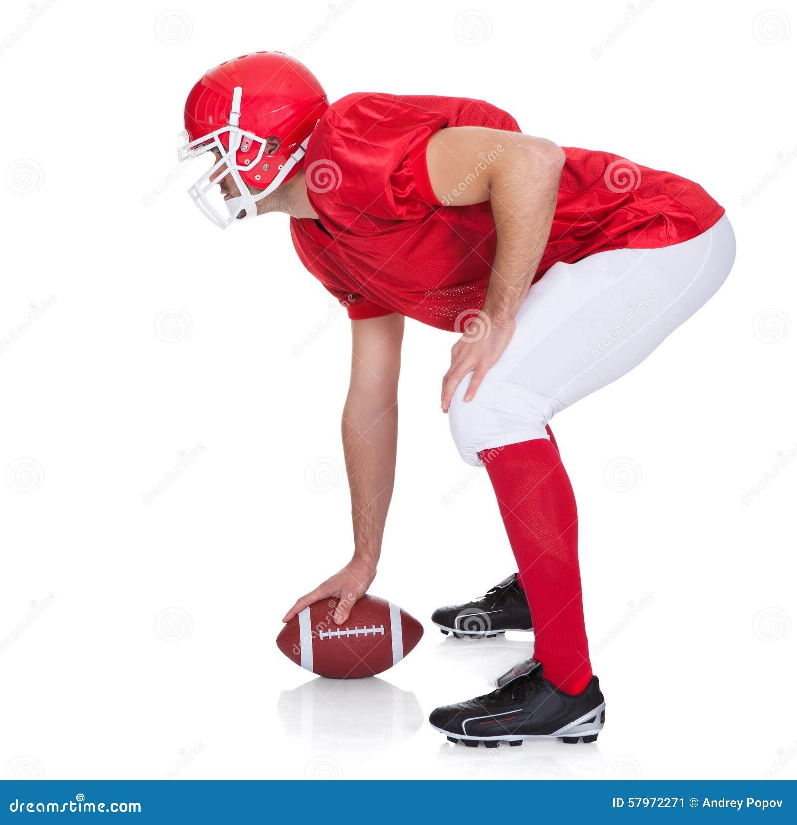 Ritratto del giocatore di football americano