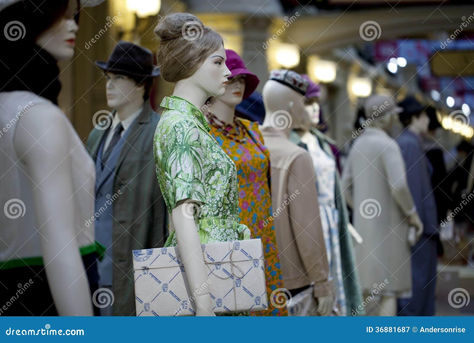 Download Ritratto Del Manichino Femminile Immagine Stock - Immagine di mannequin, fine: 36881687