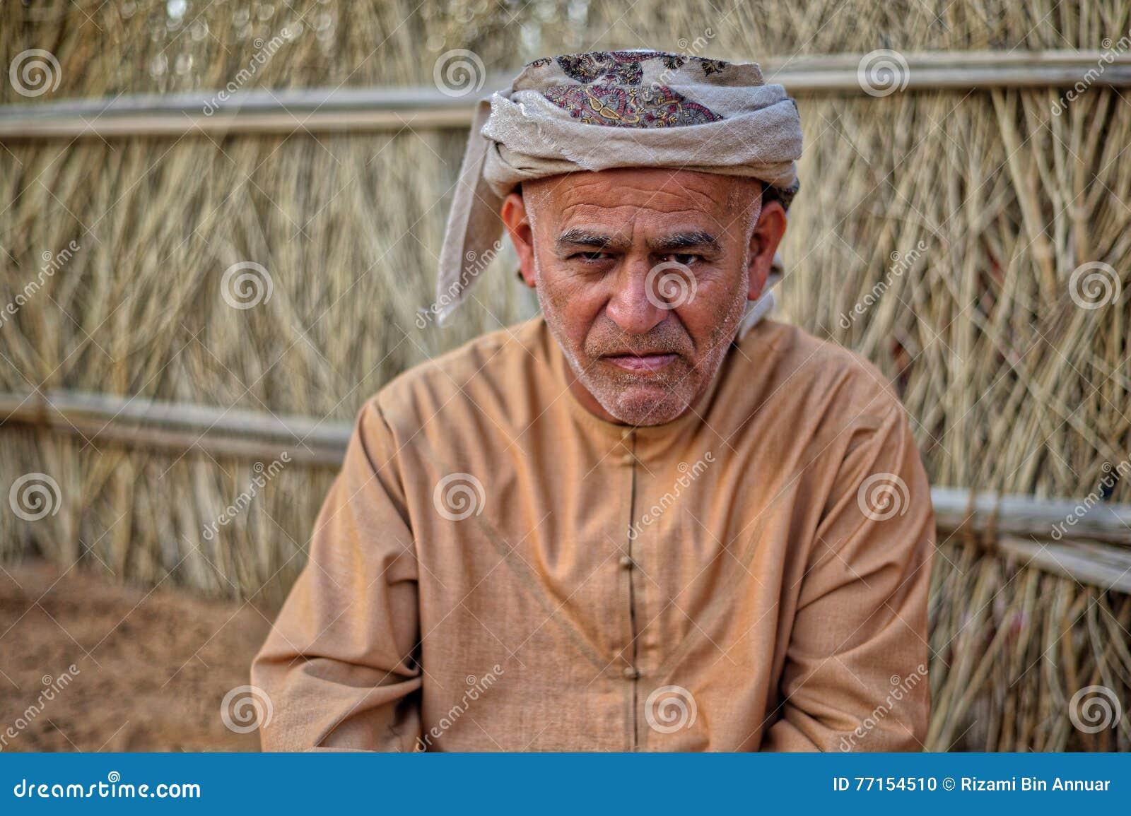 Ritratto dell uomo arabo