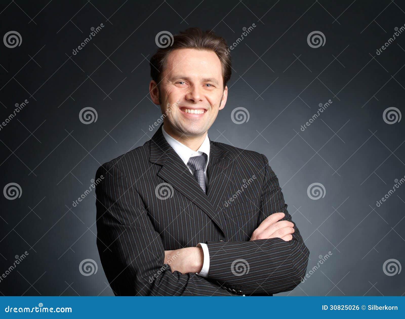 Ritratto dell uomo d affari