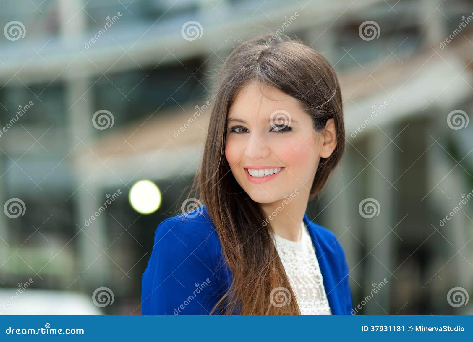 Ritratto della donna di affari