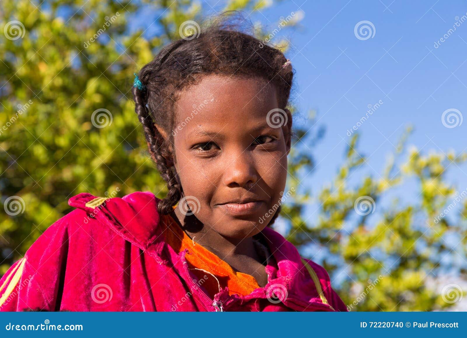 Ritratto della ragazza di Nubian