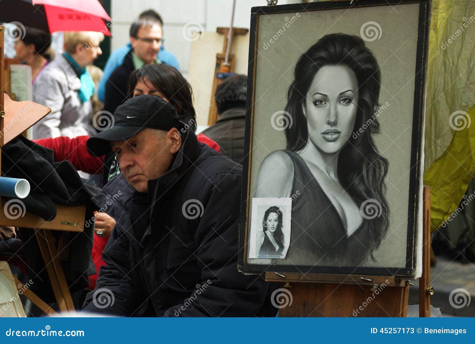 Ritratto di Angelina Jolie