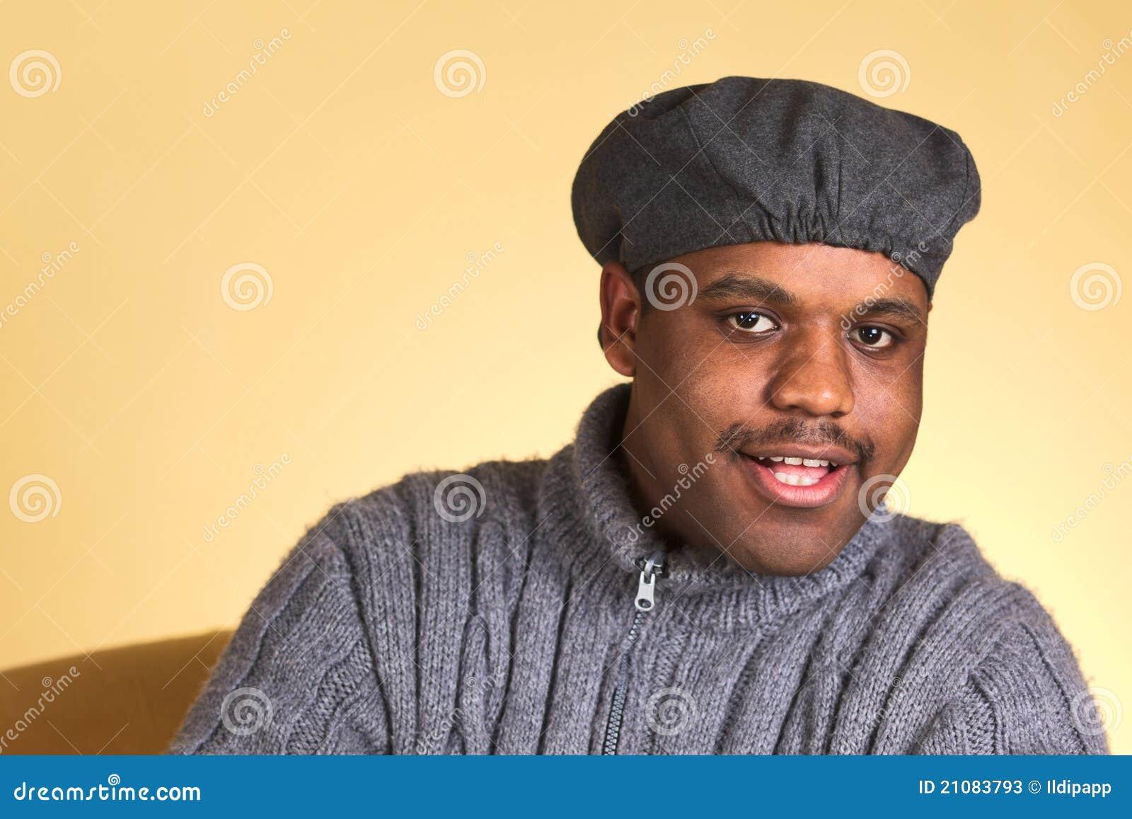 Ritratto di un giovane di origine africana