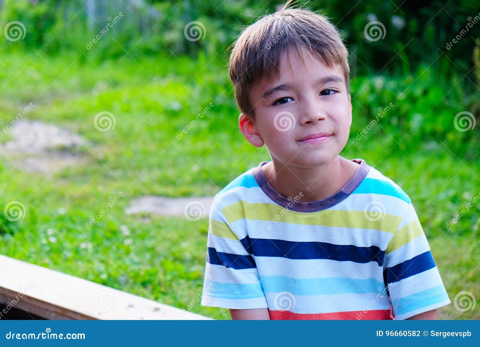 Ritratto di un ragazzo di sette anni