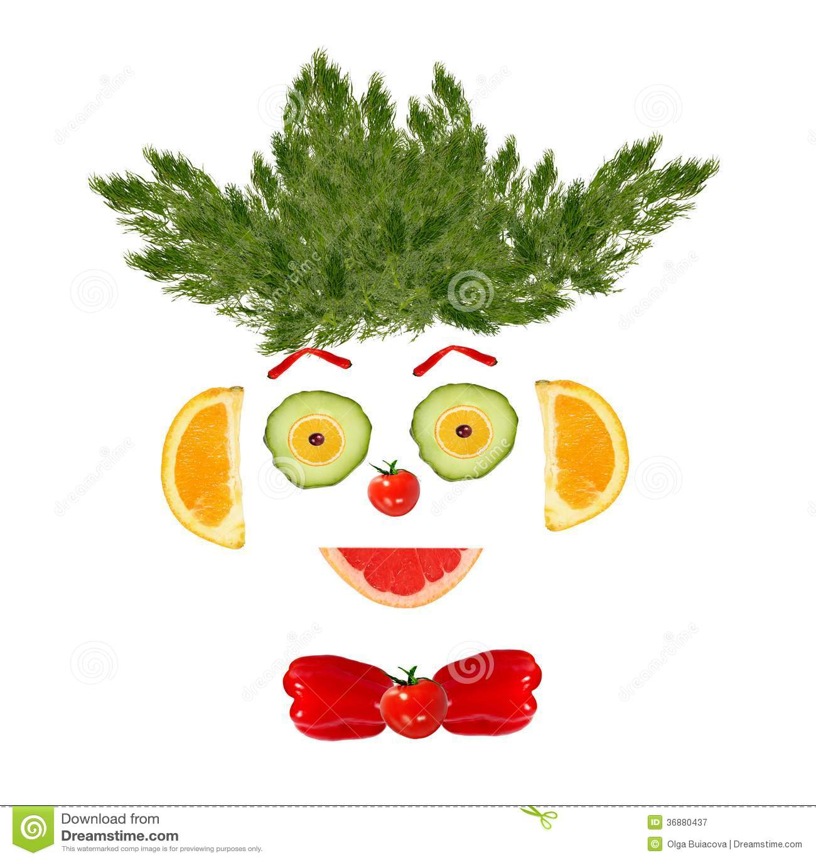 Download Ritratto Sorridente Dell'uomo Fatto Delle Verdure E Della Frutta Immagine Stock - Immagine di frutta, cucina: 36880437