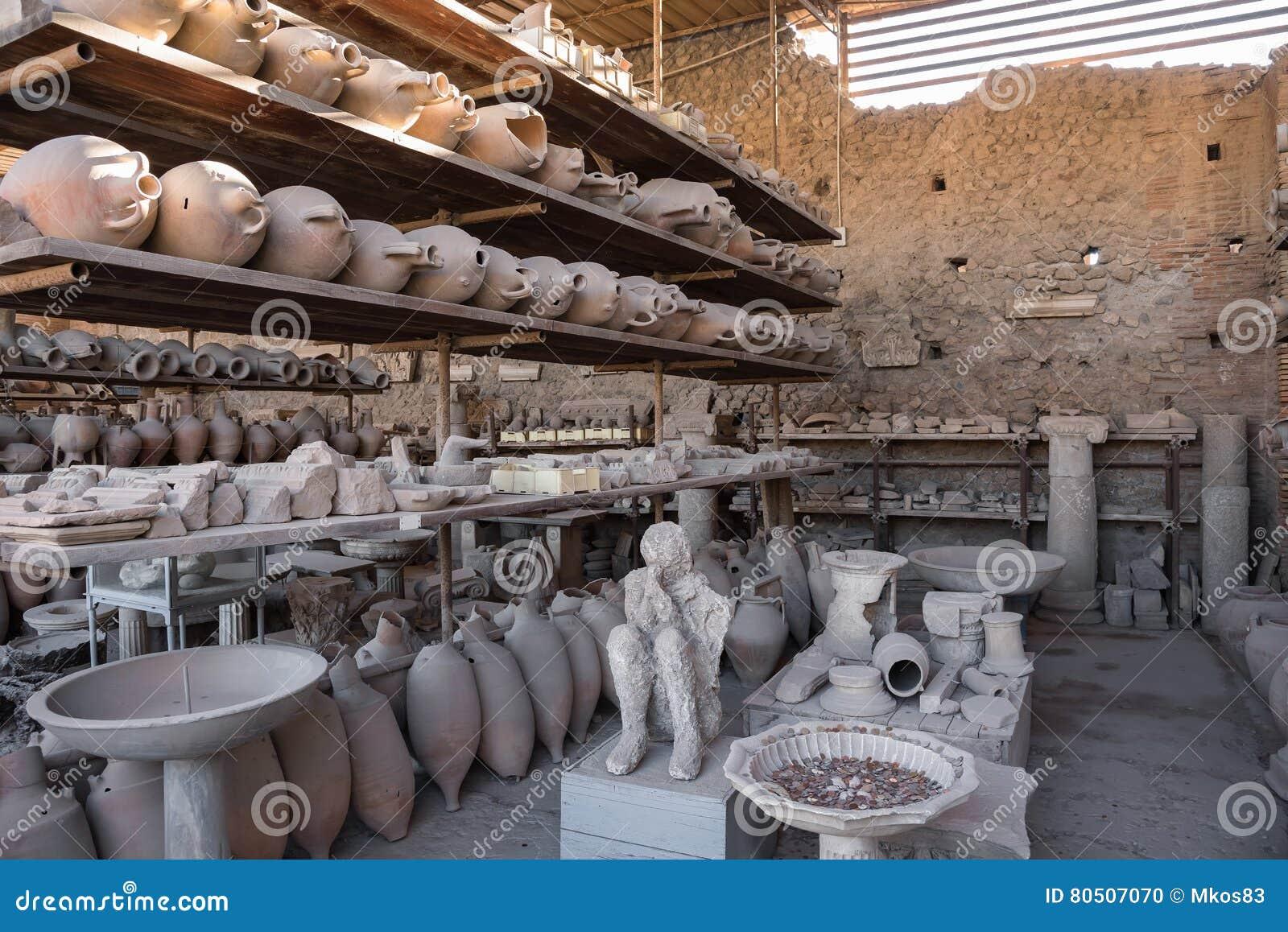 Ritrovamenti archeologici a Pompei, la città romana antica