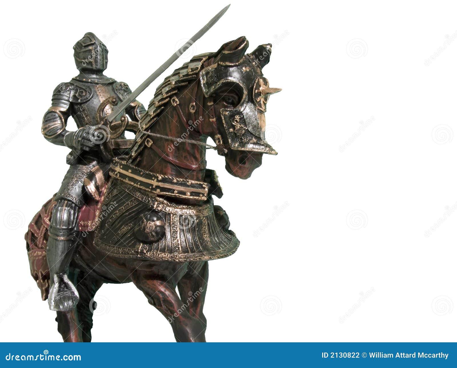 Ritter auf zu Pferde