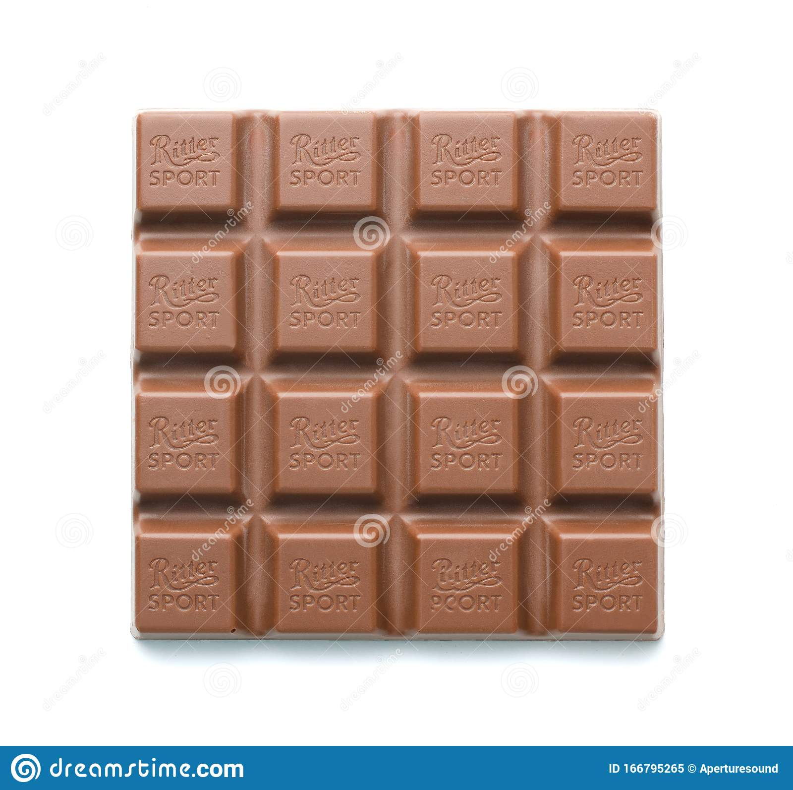 Ritter Sport Milk Chocolate Bar Editorial Image Image Of Brown Coconut 166795265