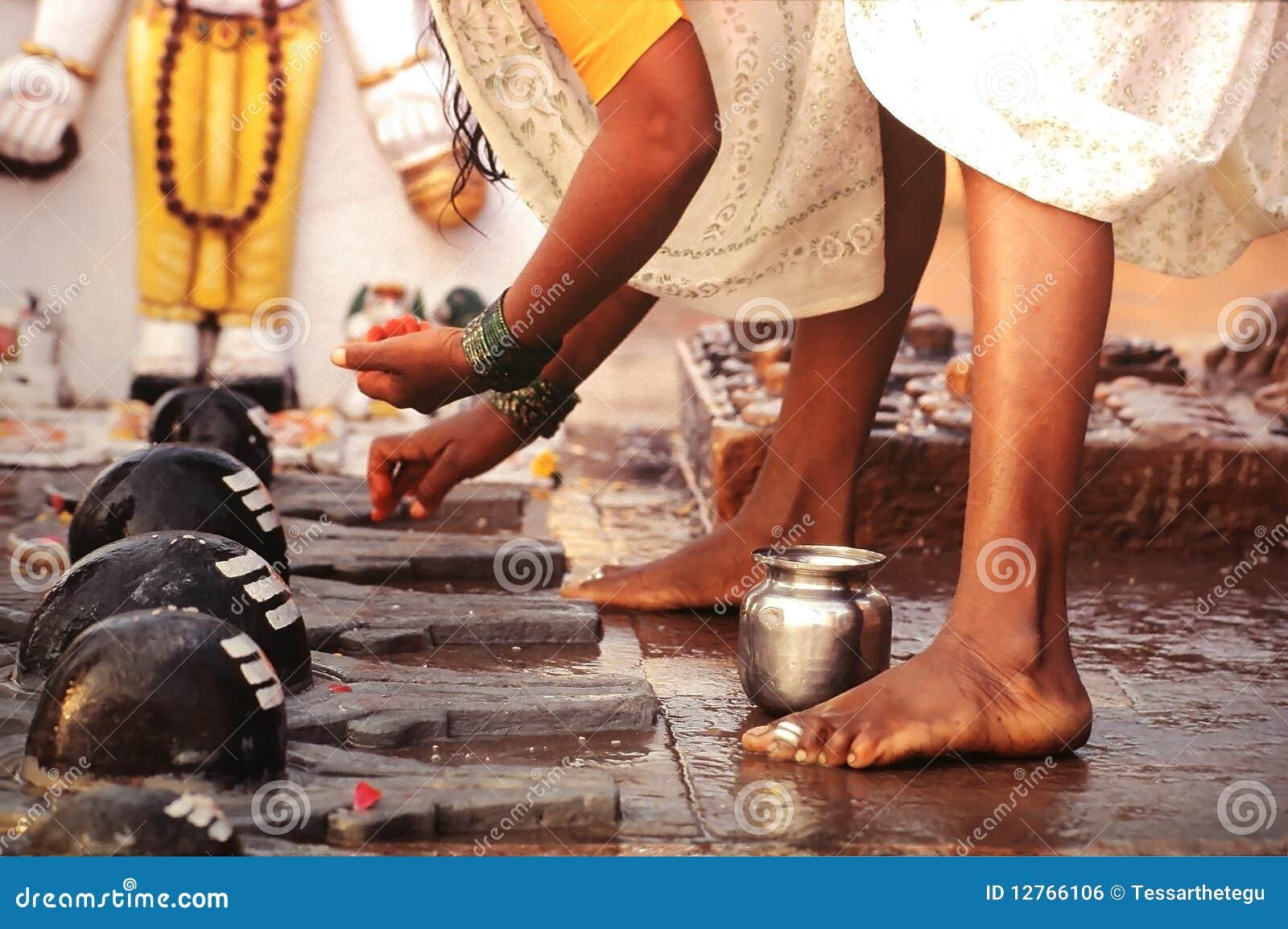 Ritual de Puja en Varanasi