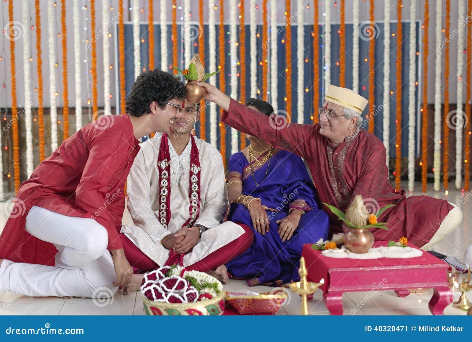 Ritual i indiskt hinduiskt bröllop