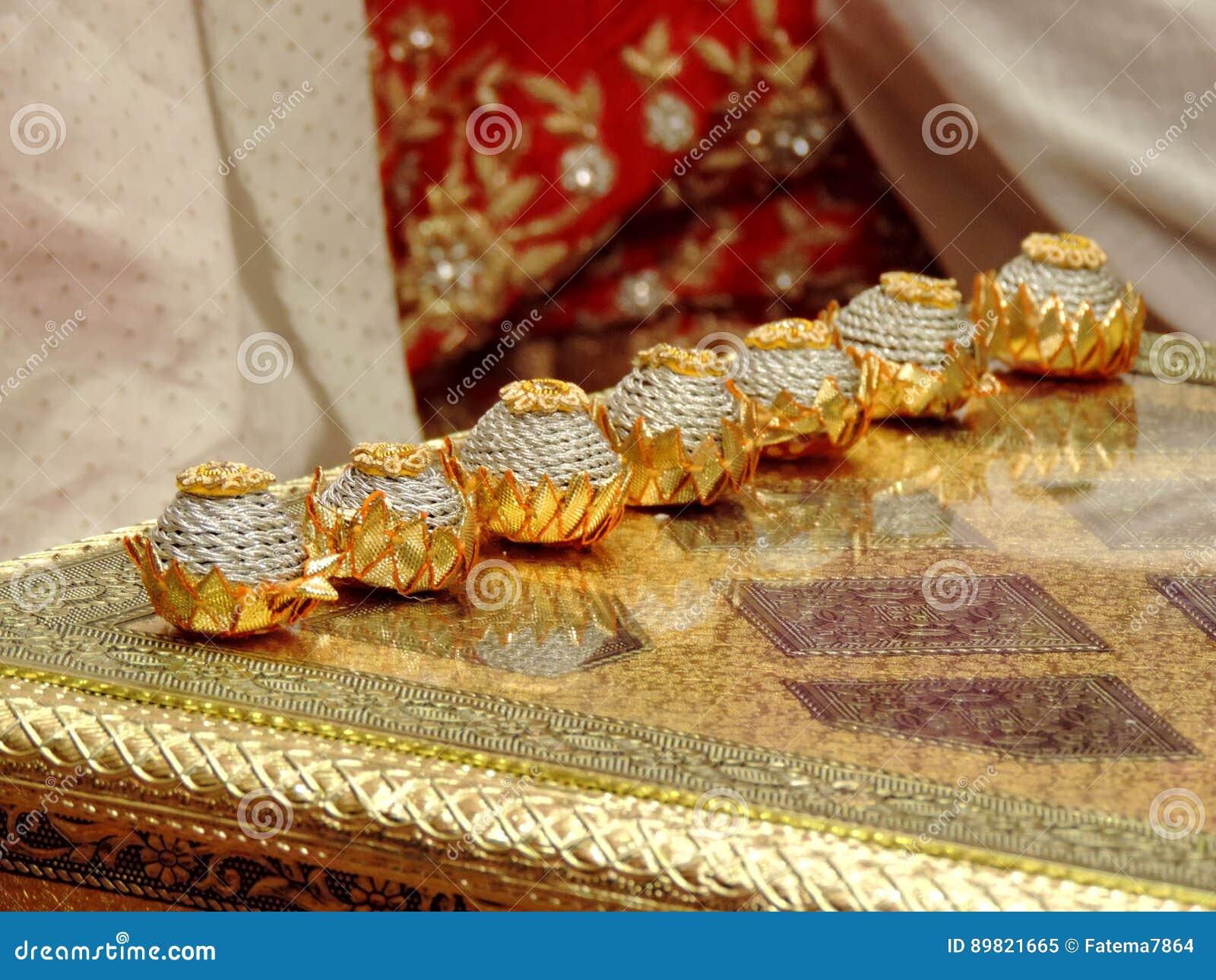 Rituale Der Traditionellen Hindischen Hochzeit Indien Stockbild