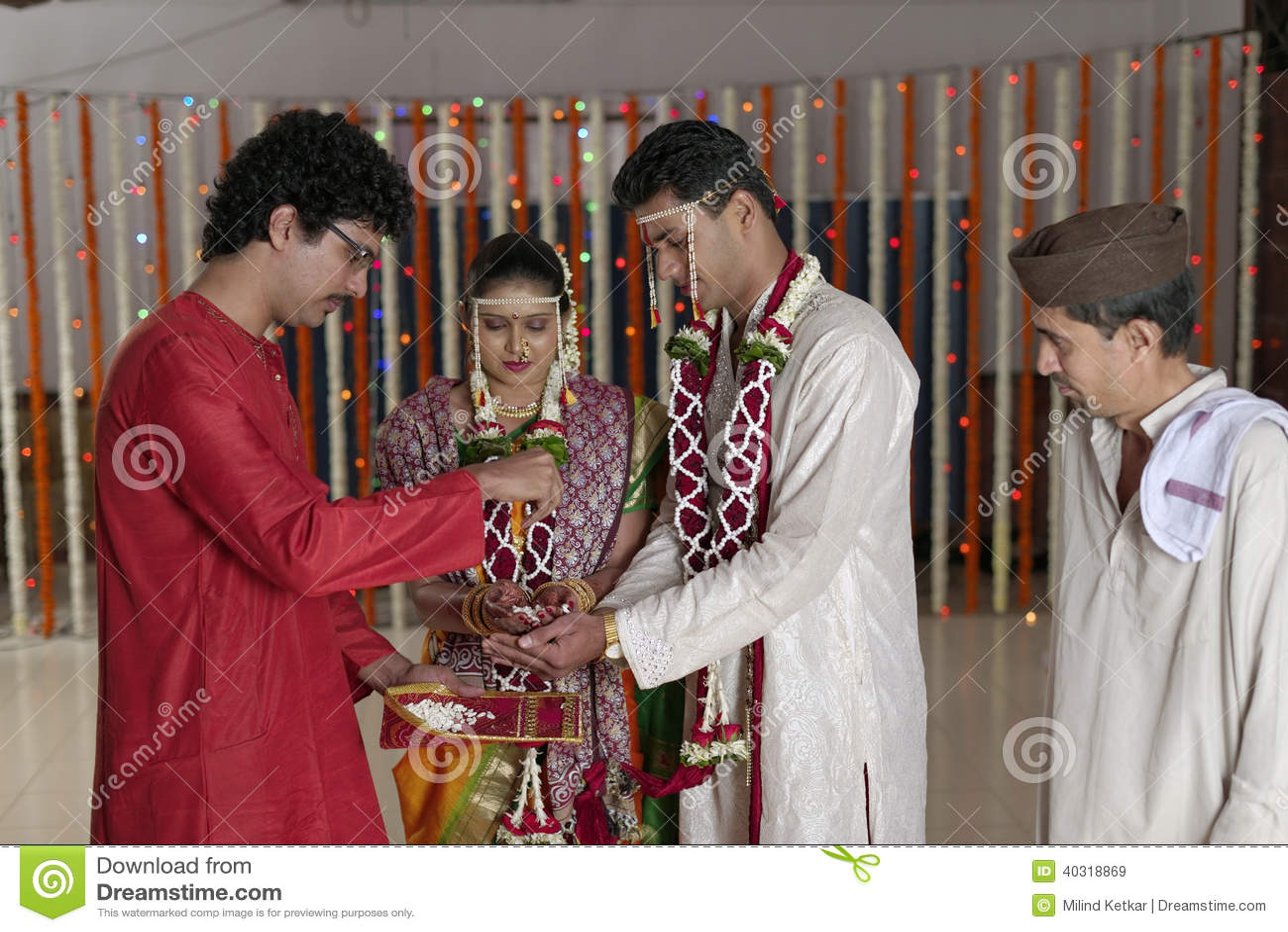 Ritualer i indiskt hinduiskt bröllop