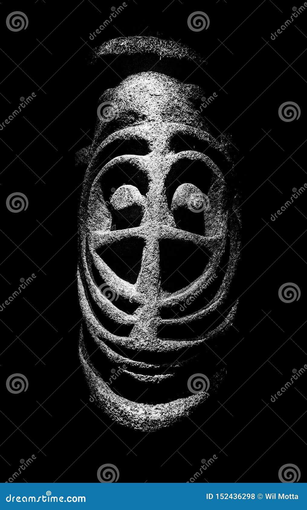 Ritueel Masker van Micronesië