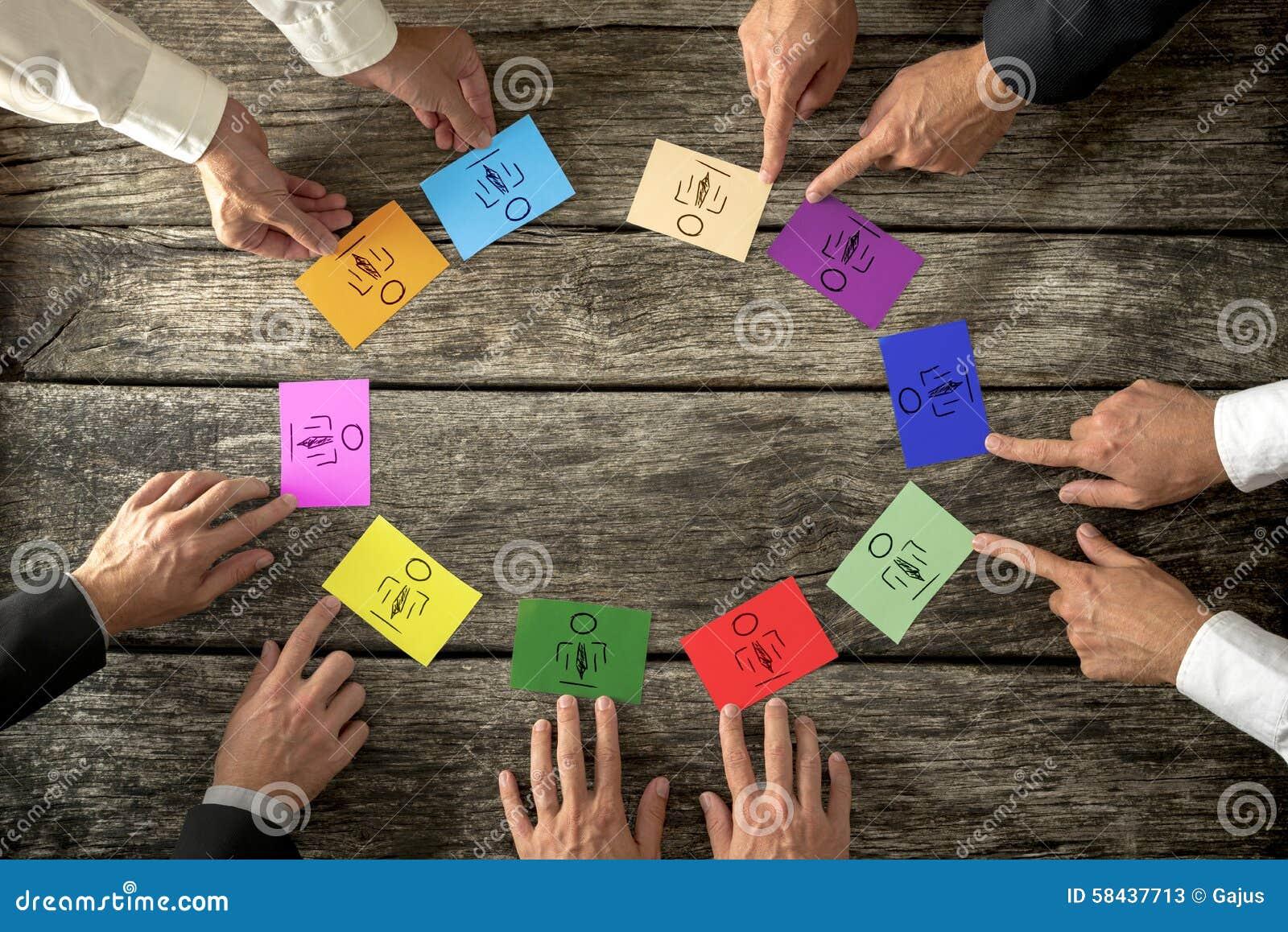 Riuscite aziende leader che creano diverso e busin competente