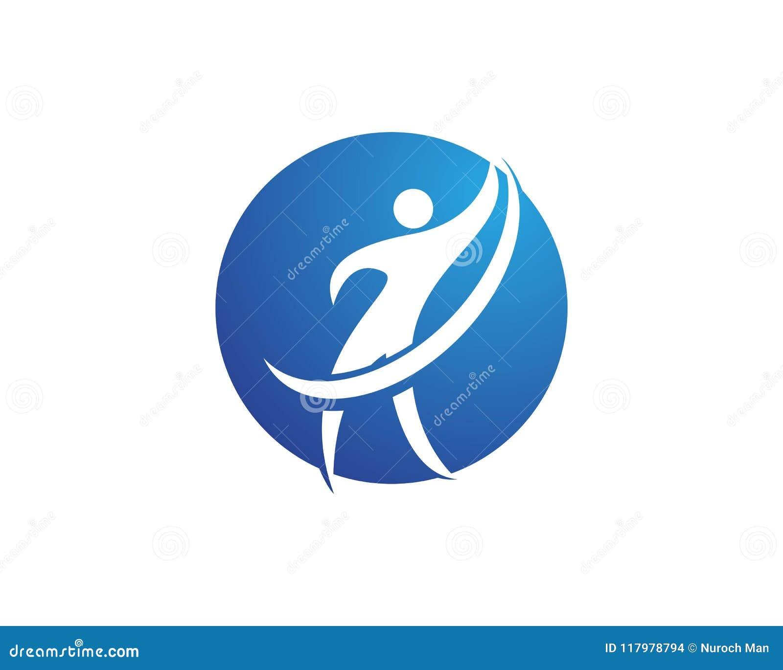 Download Riuscito logos della gente illustrazione vettoriale. Illustrazione di vincitore - 117978794