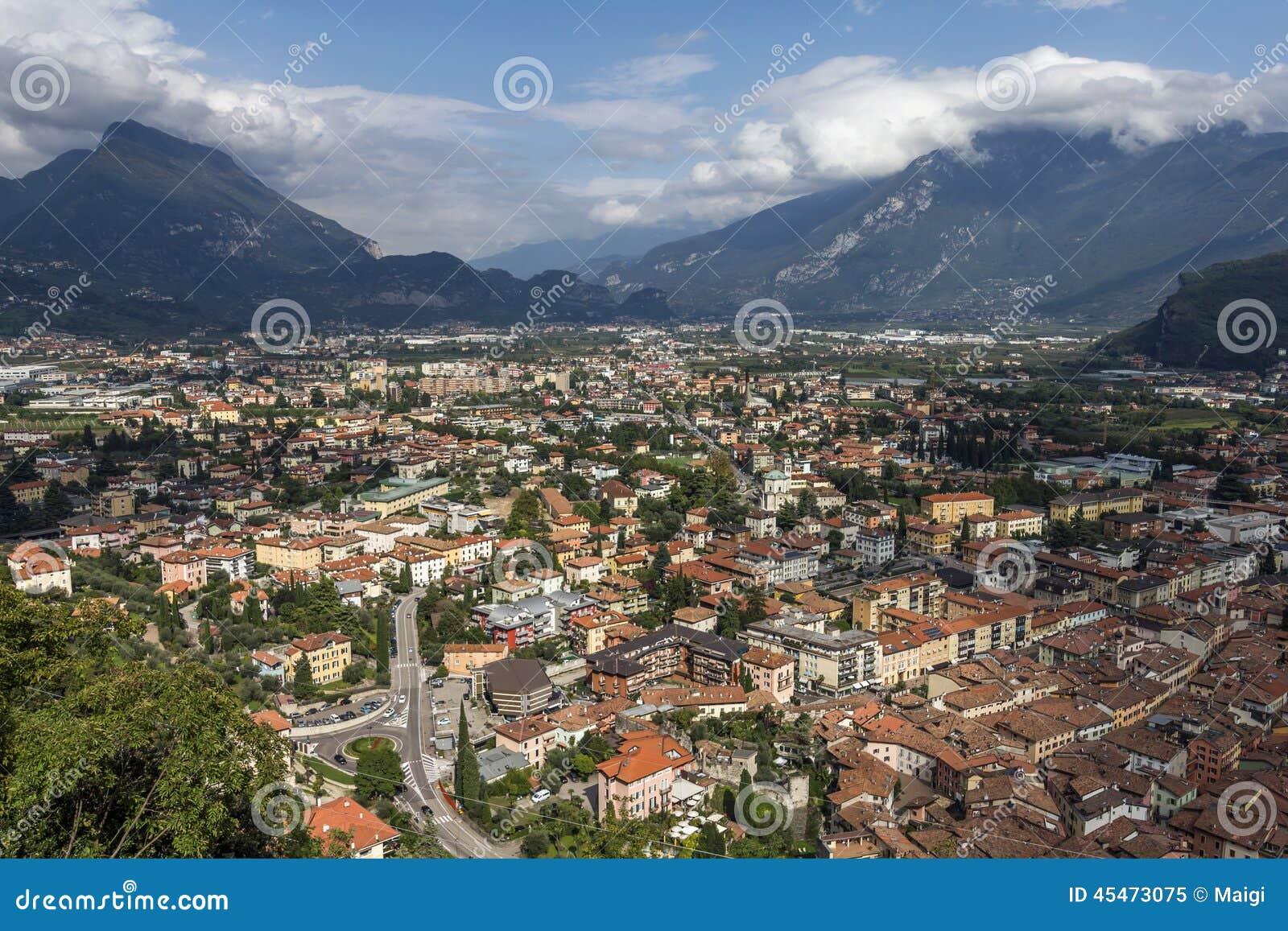 Download Riva del Garda stock image. Image of monte, italian, lago - 45473075