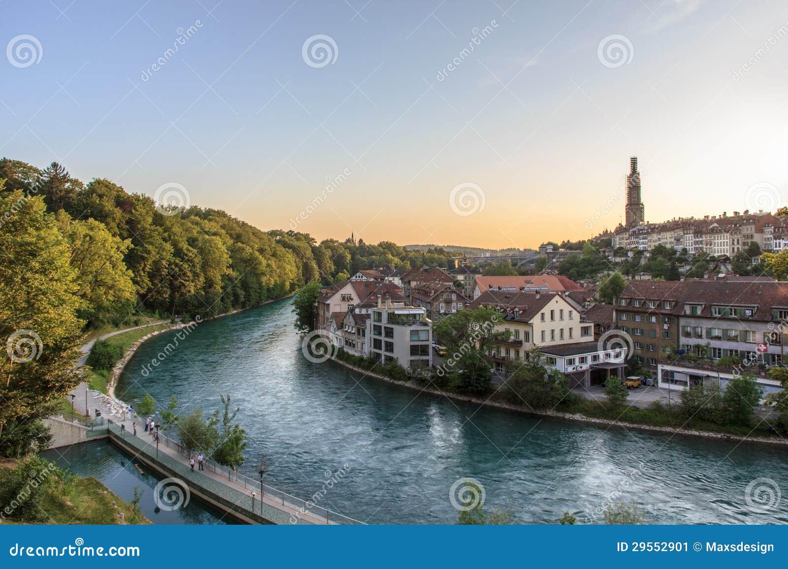 River Aar, Bern, Switzerland