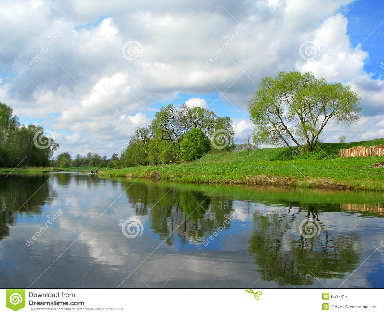 River Bank Stock Photos - Image: 6532313