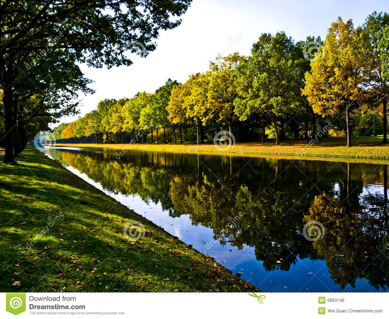 River Bank Royalty Free Stock Image  Image: 6863746