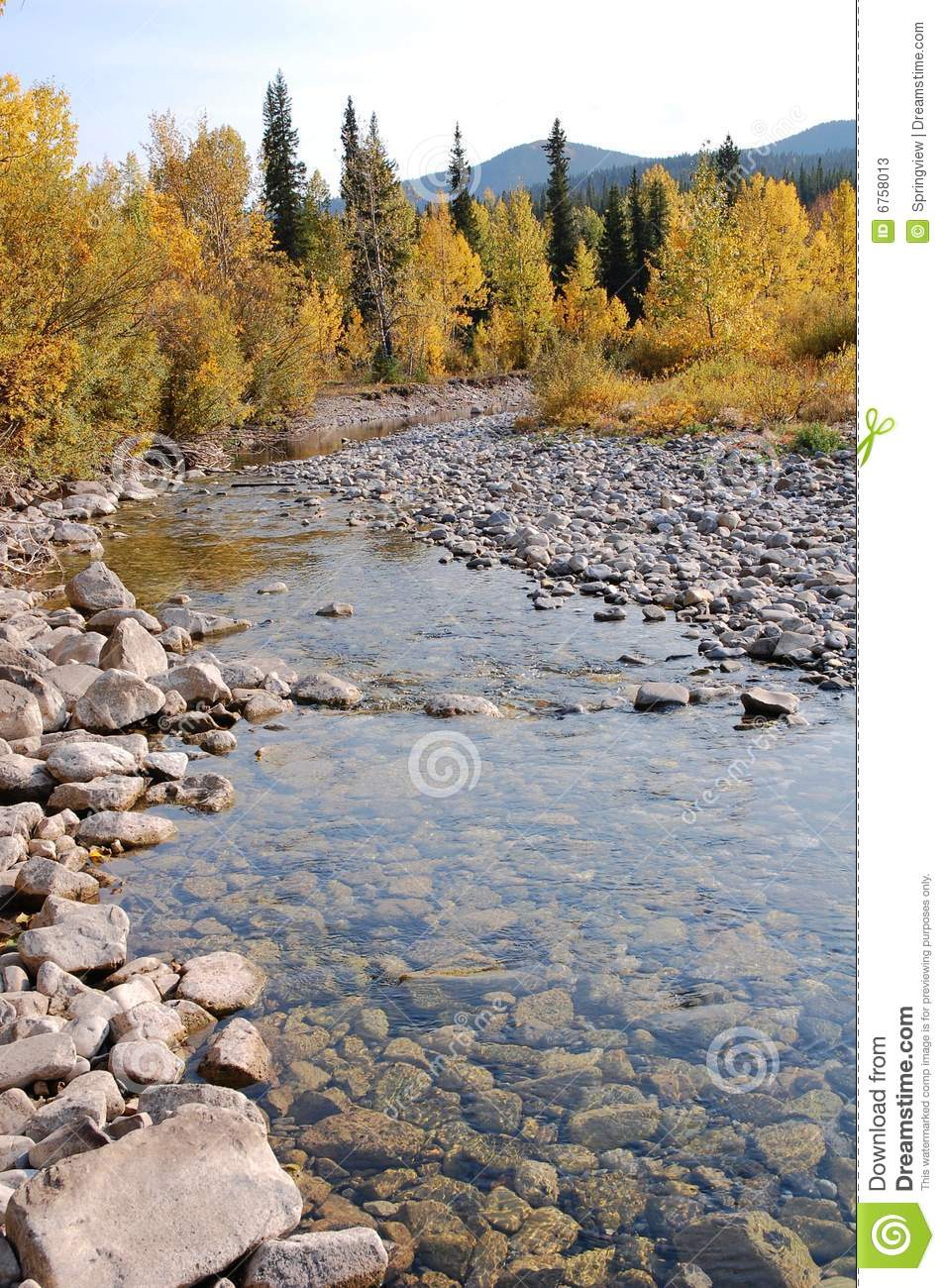 River bed stock photos image 6758013 for Landscaping rocks canada