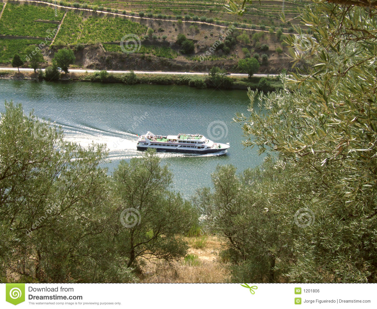 River cruise through vineyards