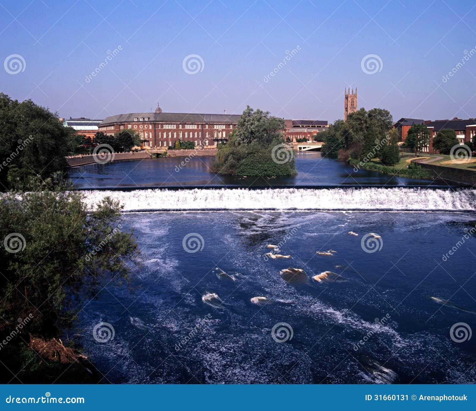 River Derwent, Derby, England.