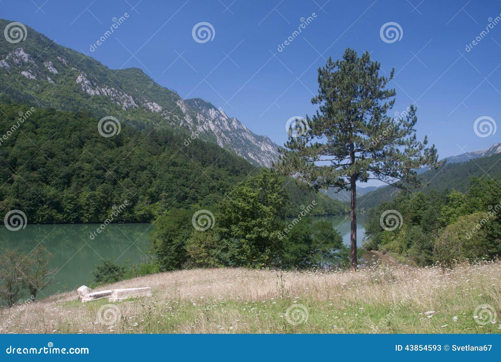 River Drina in Serbia
