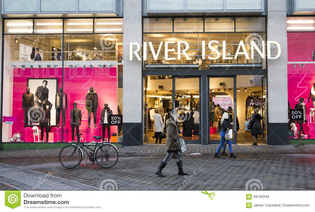07defc1ac River Island Shop Front. UK Fashion Store Editorial Stock Image ...