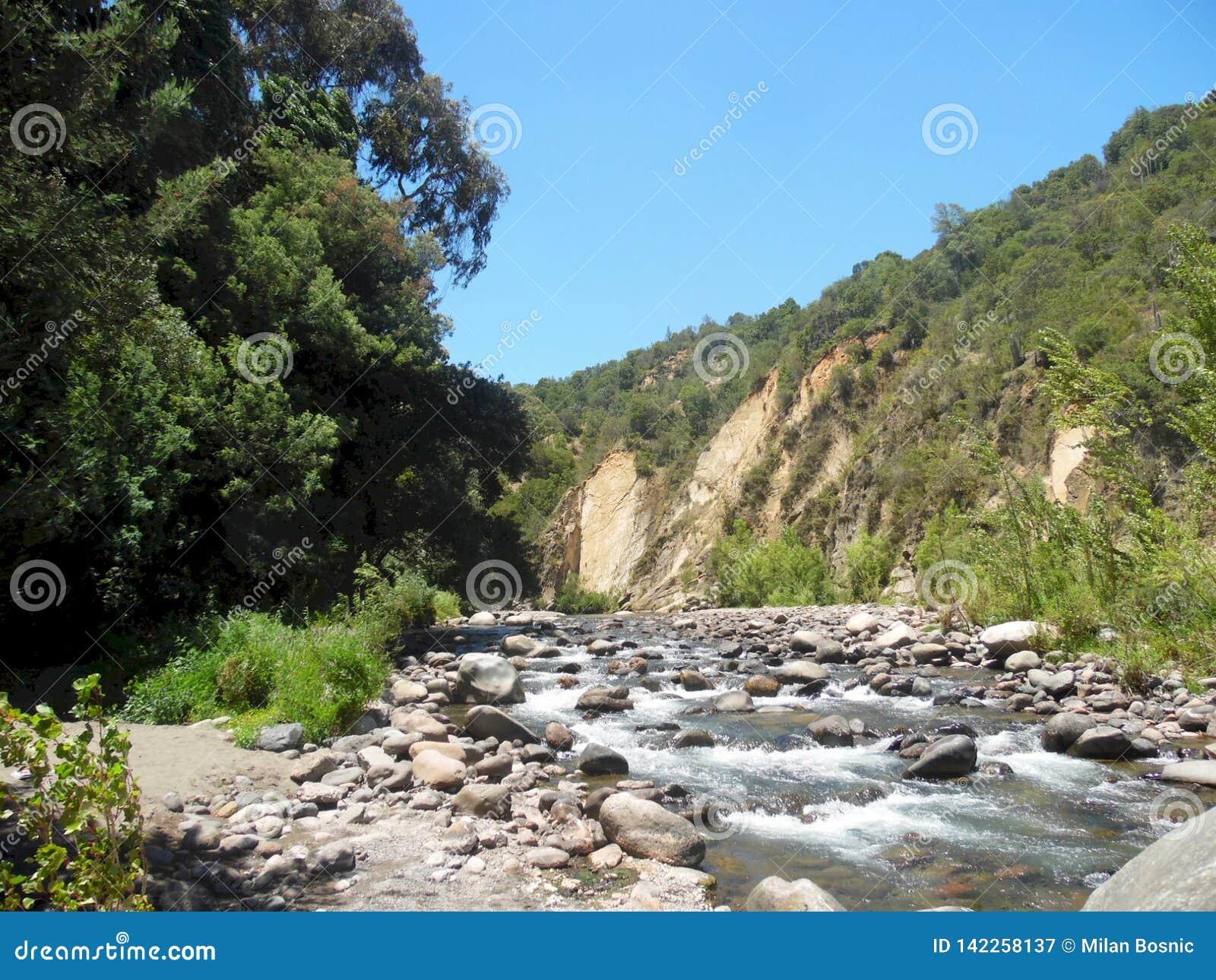 River Landscape Hills