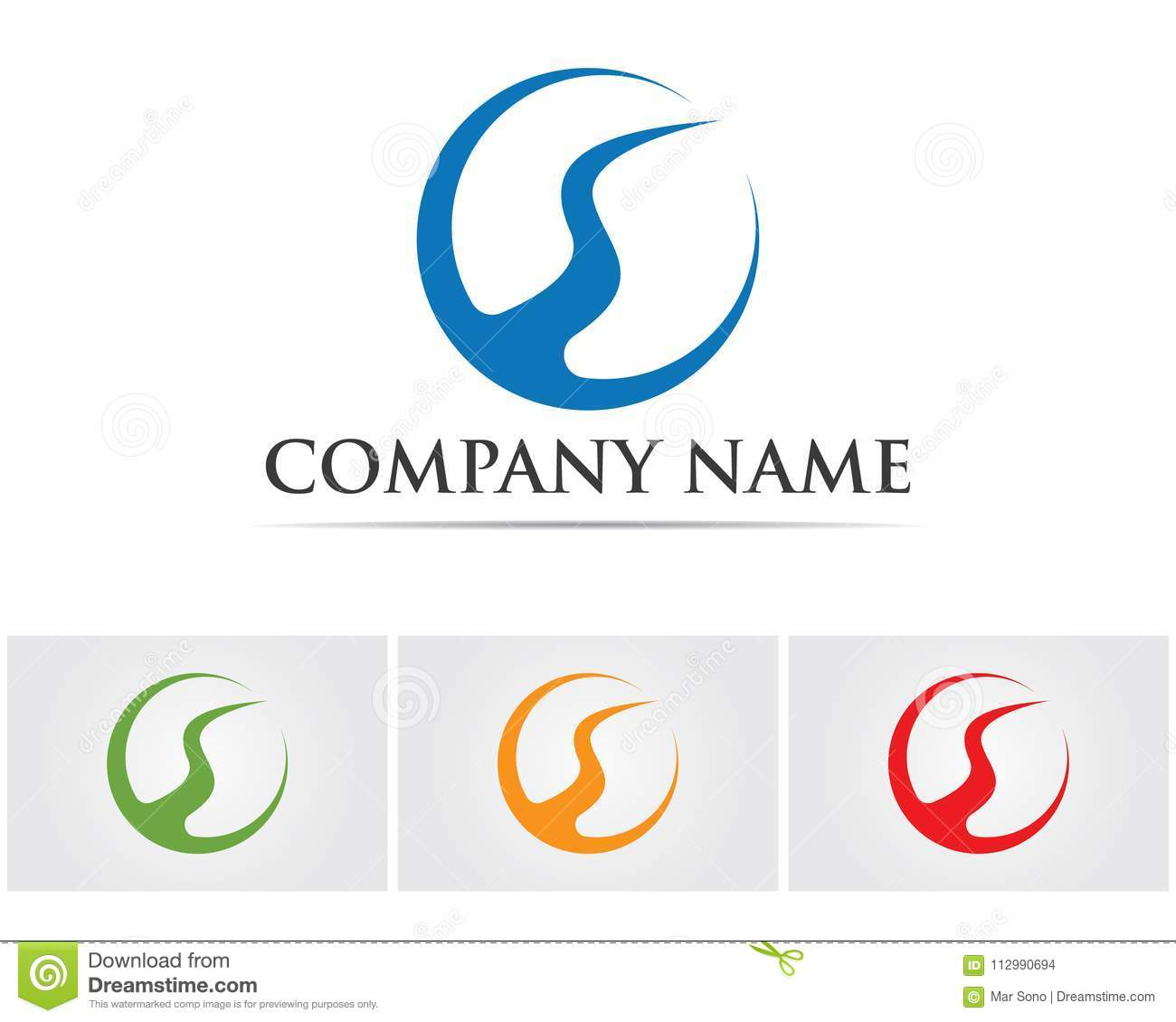 River Logo Template vector icon illustration,,,