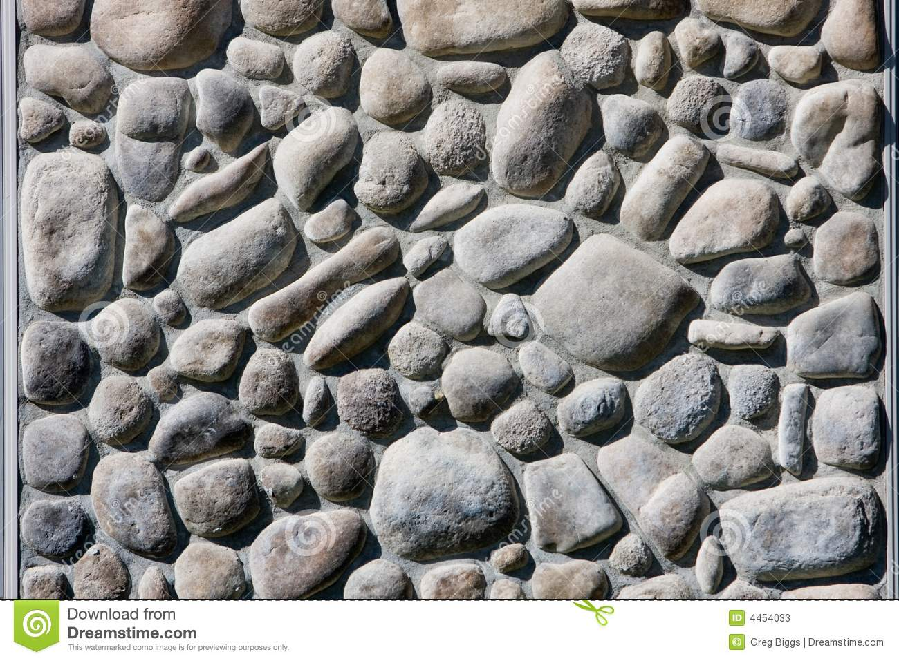 river rock wall stock image image of stone surface wall 4454033. Black Bedroom Furniture Sets. Home Design Ideas