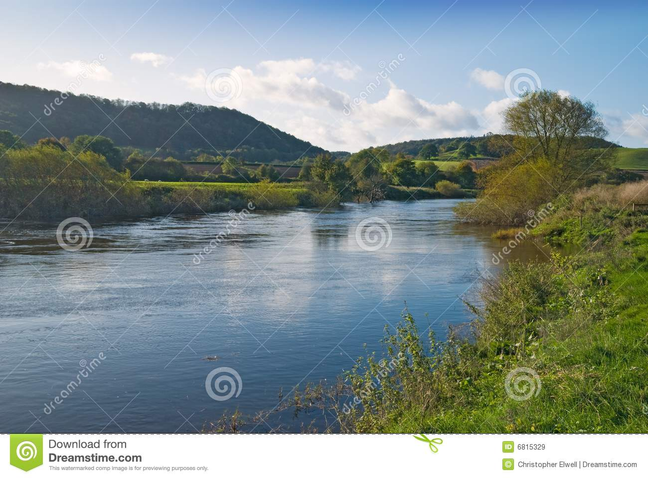 River Severn Royalty Free Stock Images Image 6815329