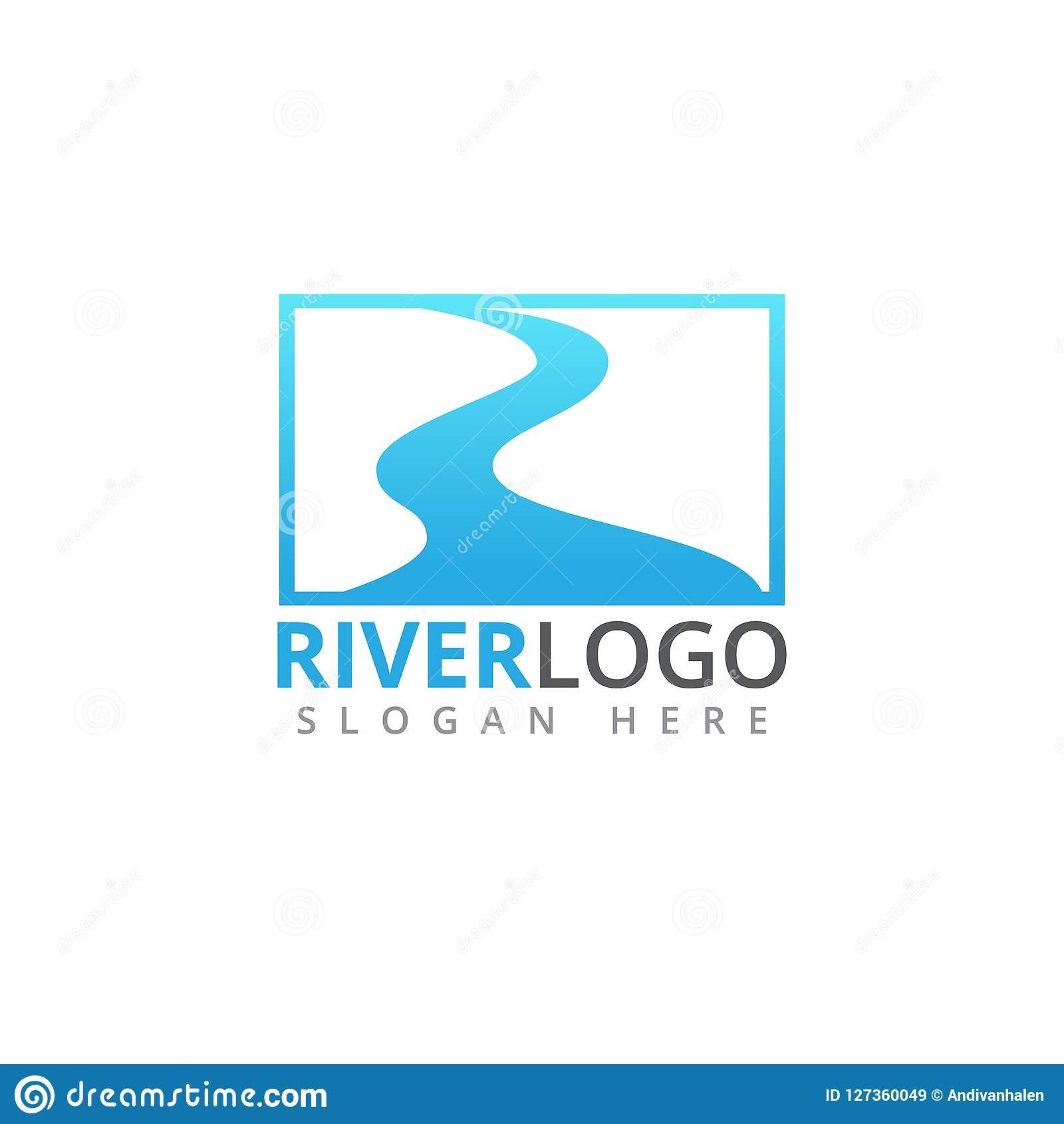 river stream flowing shape vector logo design stock illustration illustration of simple source 127360049 https www dreamstime com river stream flowing shape vector logo design abstract template image127360049