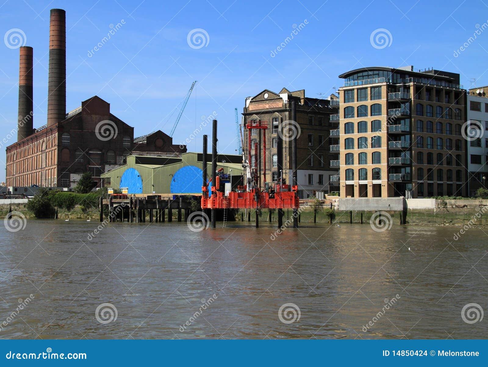 River Thames bankside