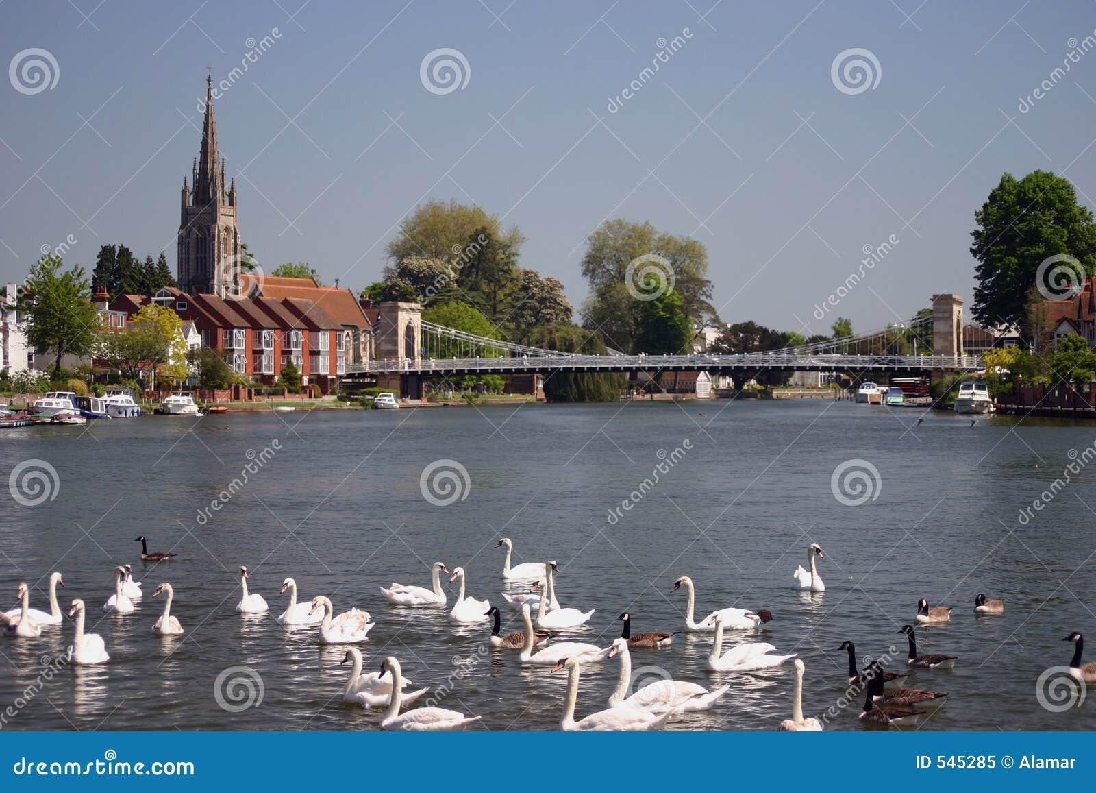 River Thames at Marlow England