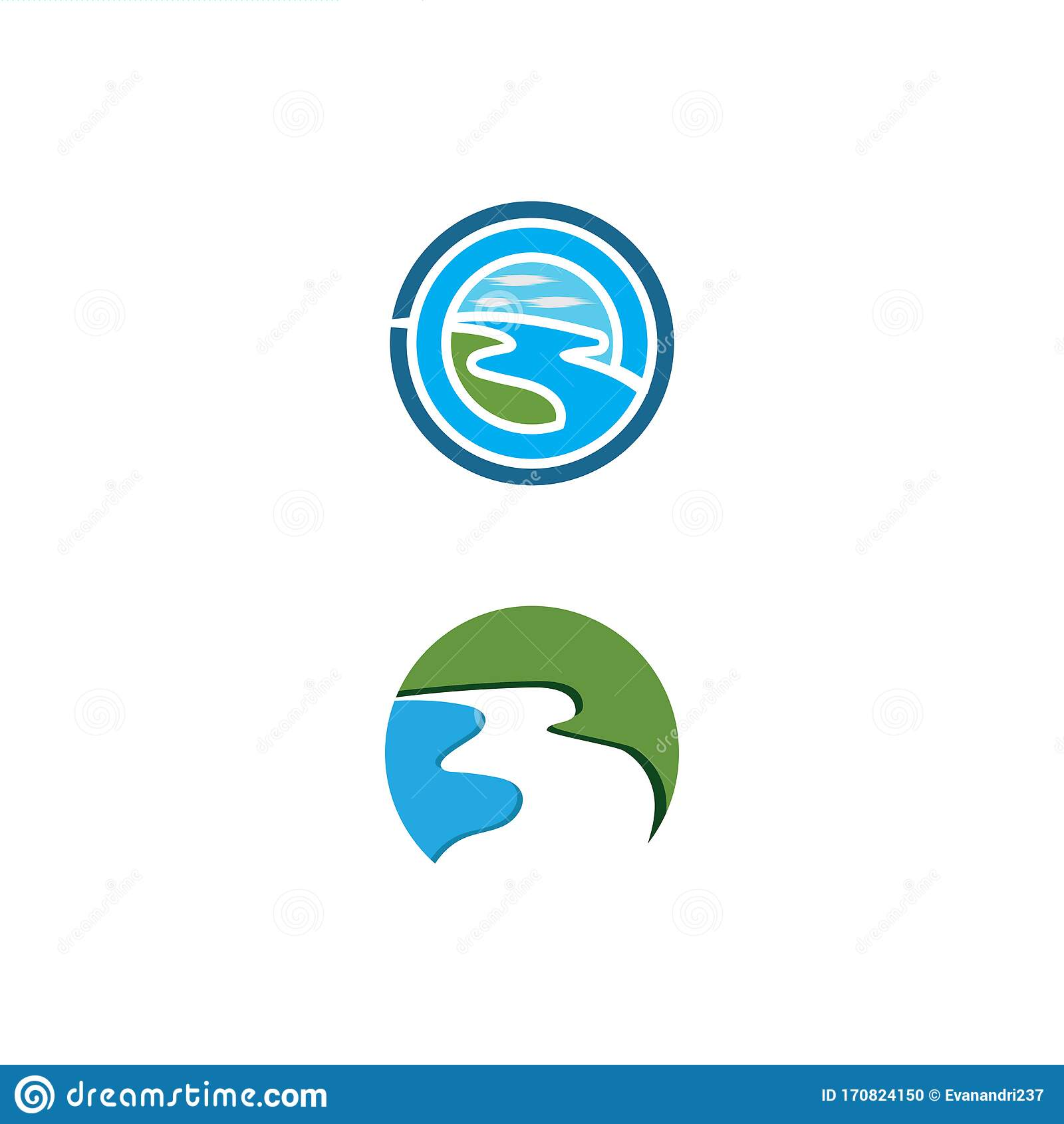 river vector icon illustration stock vector illustration of mountain isolated 170824150 dreamstime com