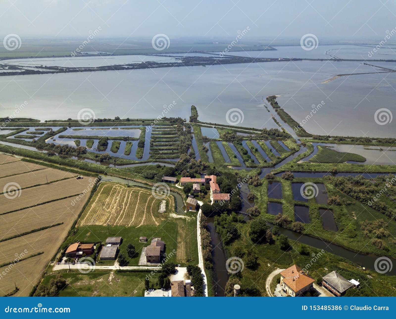 River Po Veneto Italy