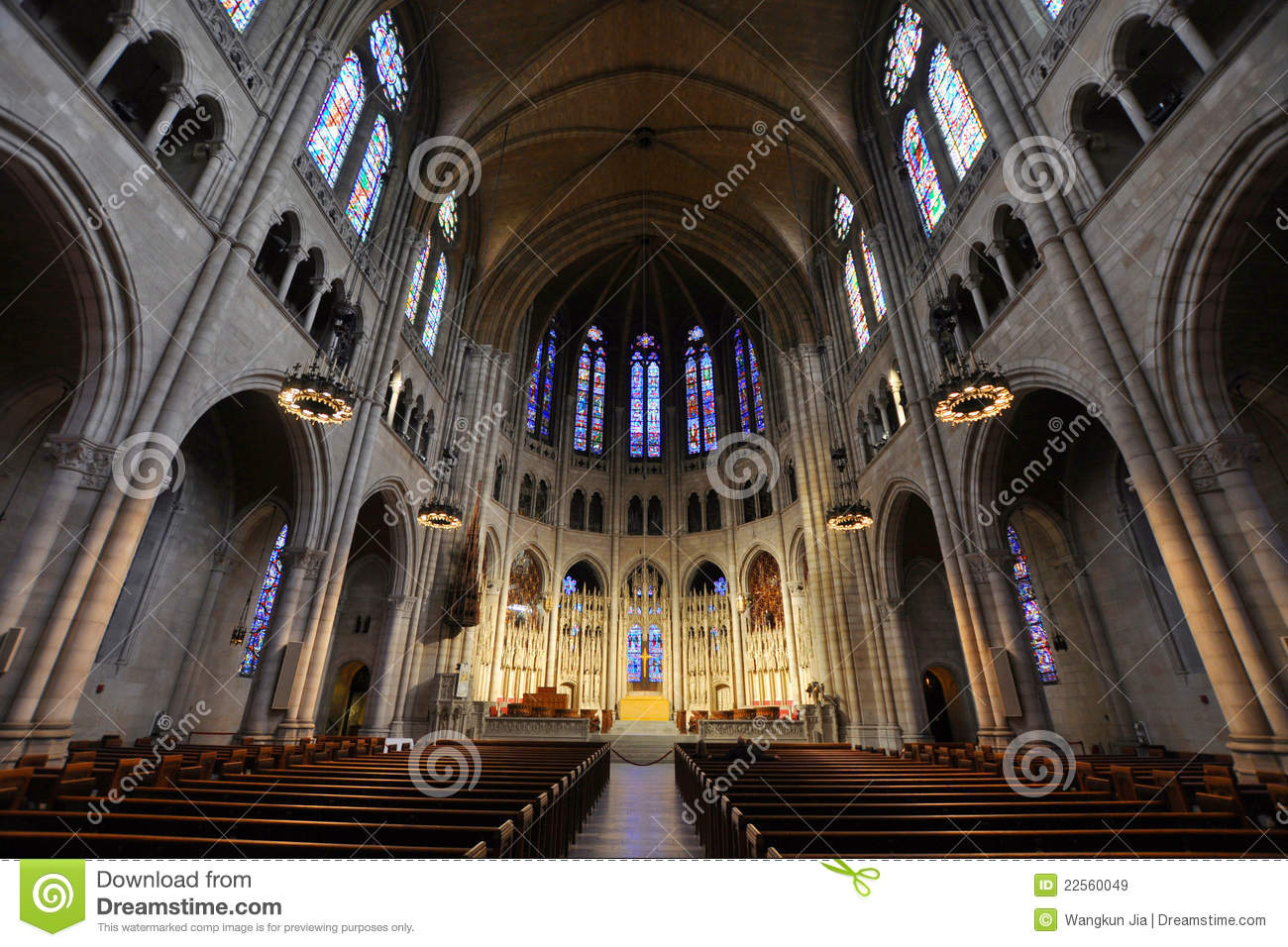 Riverside Church Of New York City Stock Image Image
