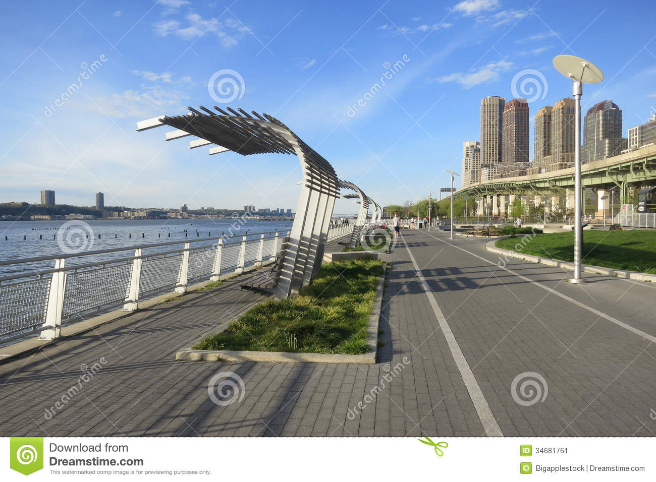 Riverside Park South In New York City Editorial Photo - Image ...
