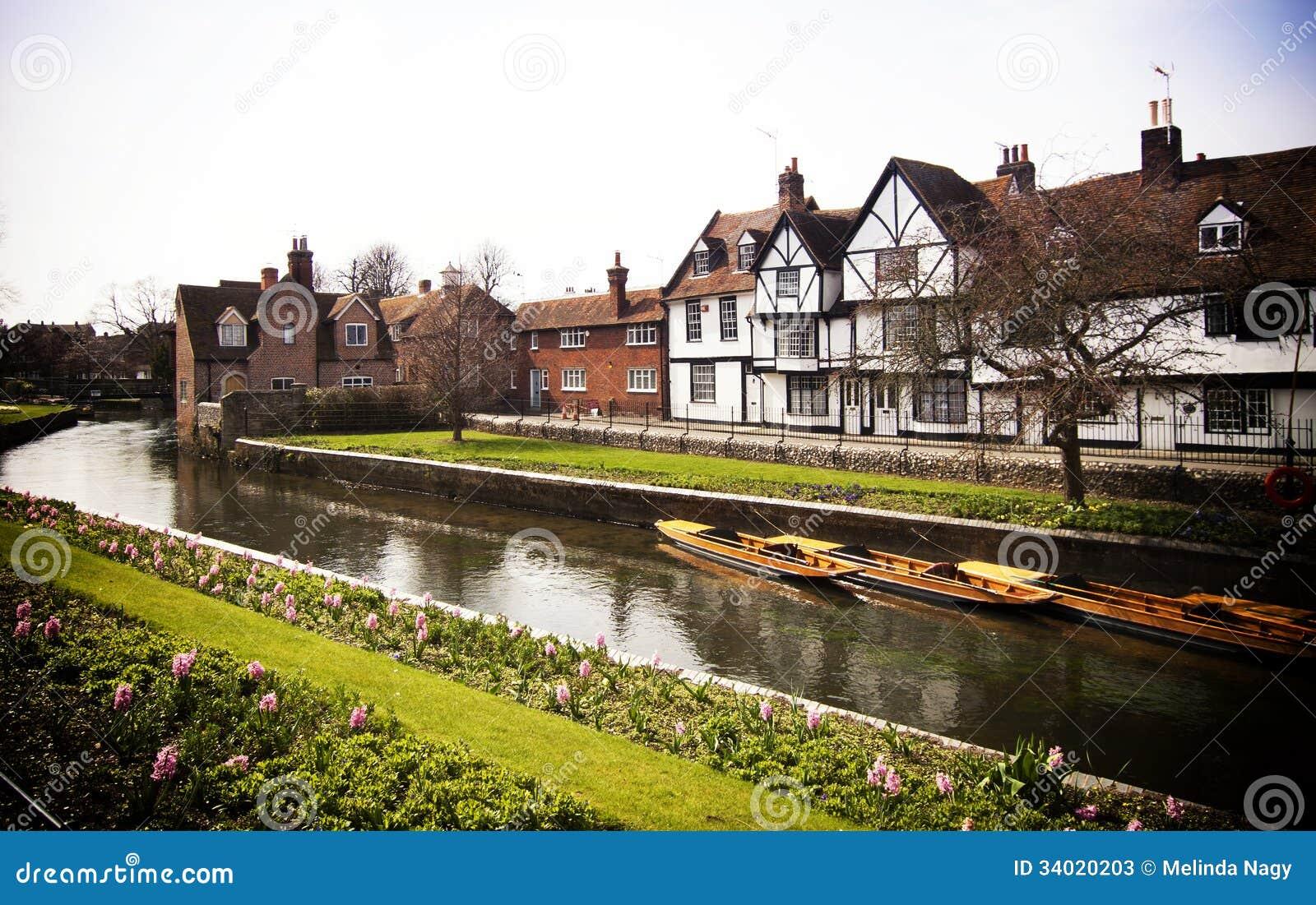 Riverside Scenery On T...