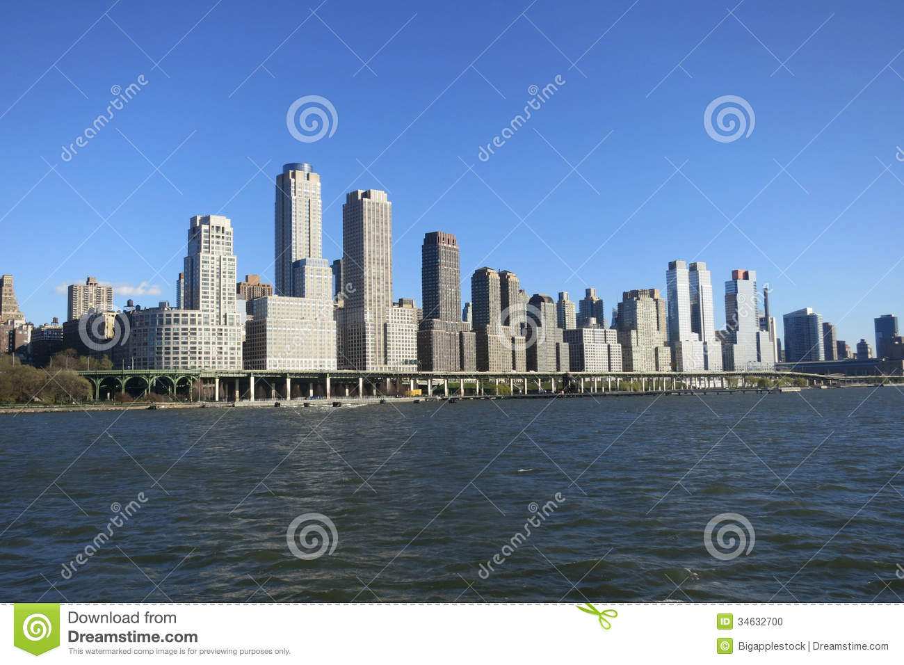 Riverside South In New York City Stock Photo Image 34632700
